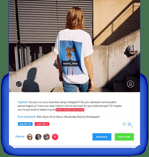 Grum software marketing per pubblicare automaticamente su instagram