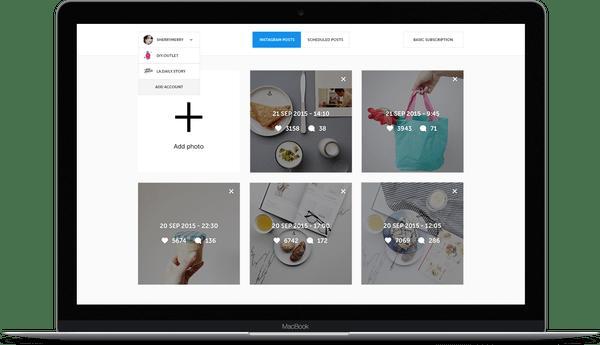 Grum strumento marketing per pubblicare automaticamente su instagram