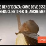 Marketing e Beneficenza Come deve essere un Sito Web che genera Clienti per te anche mentre dormi