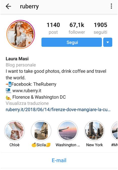 Come cambiare font su Instagram - Federica Mazza