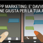 whatsapp marketing: un imprenditore risponde ad un messaggio di un cliente