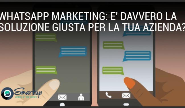 whatsapp marketing: un imprenditore risponde ad un messaggio di un cliente