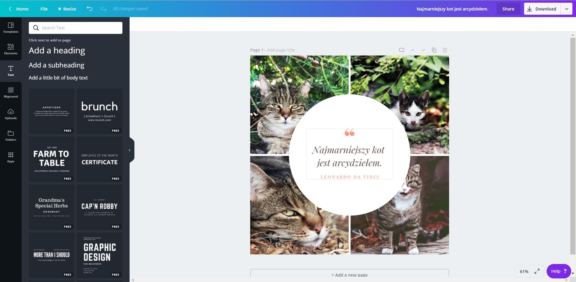 agenzia smartup canva crea immagini aziendali per etichette adesive
